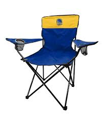 Logo Brands Golden State Warriors Navy & Yellow Folding Chair | Zulily Amazoncom San Francisco 49ers Logo T2 Quad Folding Chair And Monogrammed Personalized Chairs Custom Coachs Chair Printed Directors New Orleans Saints Carry Ncaa Logo College Deluxe Licensed Bag Beautiful With Carrying For 2018 Hot Promotional Beach Buy Mesh X10035 Discountmugs Cute Your School Design Camp Online At Allstar Pnic Time University Of Hawaii Hunter Green Sports Oak Wood Convertible Lounger Red