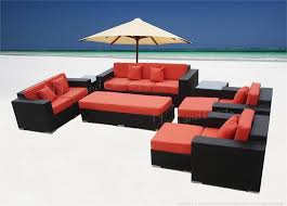 Outdoor Sectional Sofa Set by Wicker Sectional Sofa Set Patio 17 Fabrics
