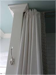 Ceiling Mount Curtain Track Home Depot by Ceiling Mounted Curtain Rods Express Air Modern Home Design