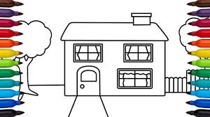How To Draw A Simple House