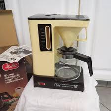 EUC Vintage Melitta ACM 10 4 Automatic Cone Filter Coffeemaker Cup