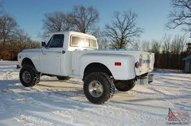 100 Chevy Truck 1970 Stepside 4x4 For Sale S