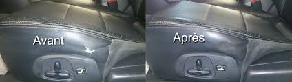 reparation siege cuir auto préparation esthétique réparation et rénovation