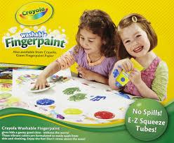 Crayola Bathtub Fingerpaint Soap Set by Crayola Washable Fingerpaint Pack 4 Assorted Bold Colors 4 Oz