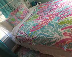 Lilly Pulitzer Bedding Dorm by Lilly Pulitzer Duvet Cover Etsy