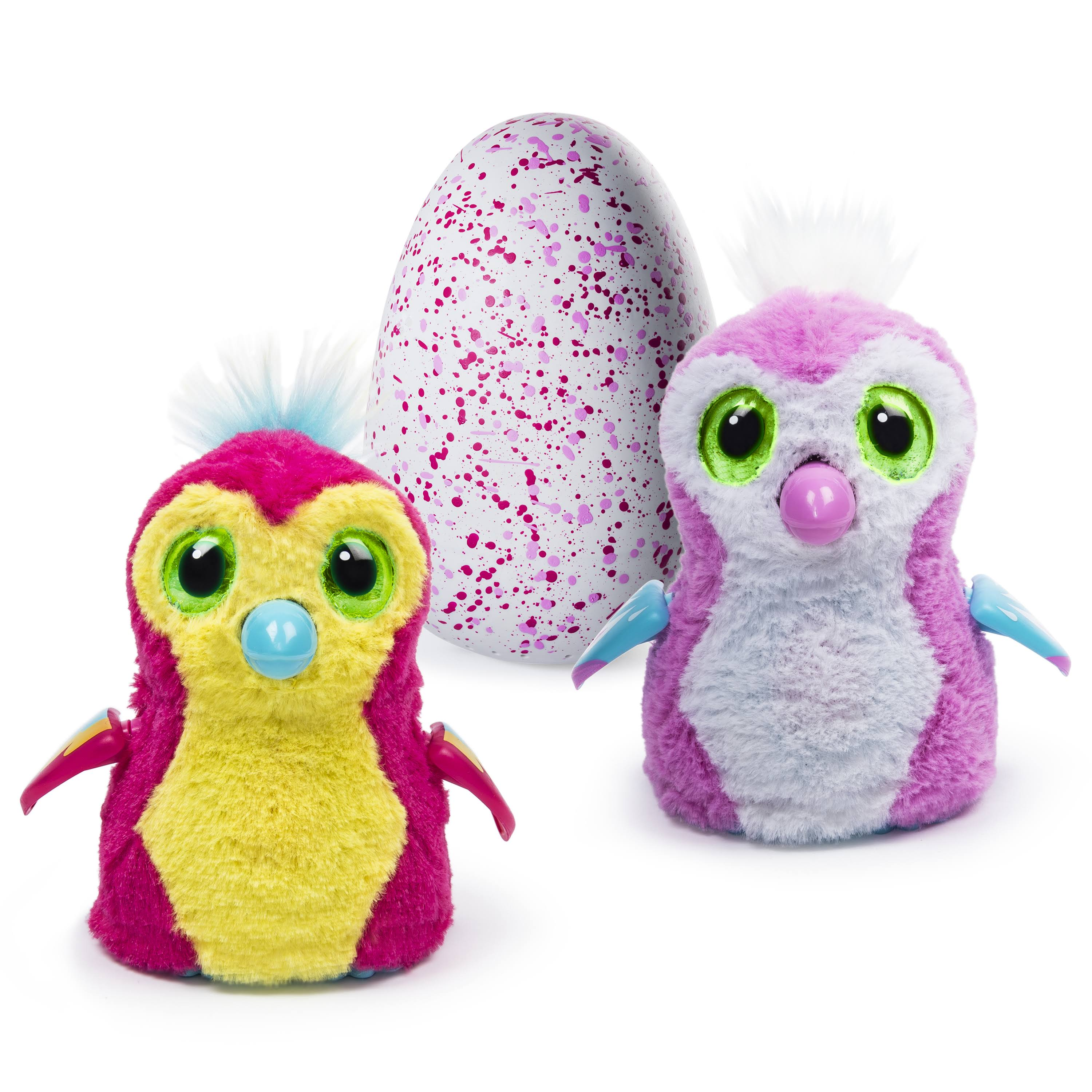 Spin Master Hatchimals Penguala Hatching Egg Toys - Pink/Yellow