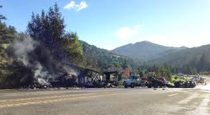 100 Truck Accident Today Food For People Destroyed In Fiery Lost Coast
