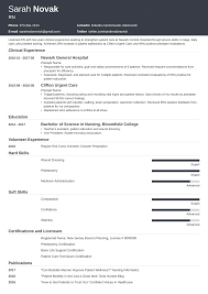 Nursing Student Resume Sample & Guide For New Grad