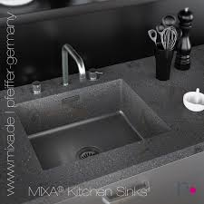 mixa mineralwerkstoff küchenspüle fugenlos integriert in