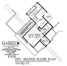 Harmonious Mountain Style House Plans by Chestatee River Cottage House Plan 07223 Optional 2nd Floor