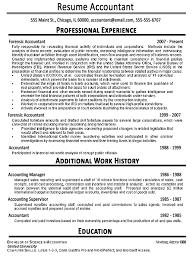 resume for accountant free accounting resume exles haadyaooverbayresort