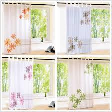 gardinen vorhänge mit schlaufen wohnzimmer dekogardinen