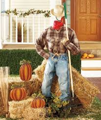 Fairs U0026 Festivals Scarecrows Pumpkins Oktoberfests Oh My by Halloween Scarecrow Form Fall Decorations Pinterest