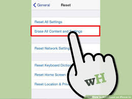How to Hard Reset an iPhone 5c 6 Steps with wikiHow