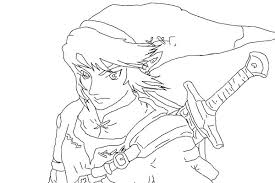 Comment This Picture Legend Zelda Coloring Pages