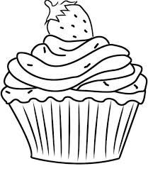 Trend Coloring Pages Cupcakes 18 line with Coloring Pages Cupcakes