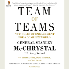Team Of Teams Audiobook By General Stanley McChrystal