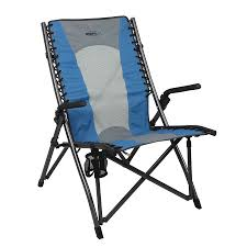 Timber Ridge Folding Lounge Chair by North 40 Outfitters Deluxe Bungee Chair Camp Furniture Camping