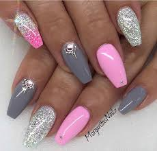 31 Trendy Nail Art Ideas for Coffin Nails – Page 31 – Foliver blog