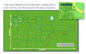 Colorado Water Trunk Line Map