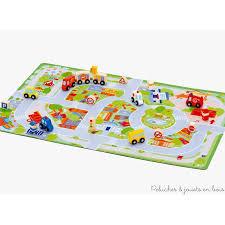 tapis de jeux voitures offrir des jouets en bois des jouets uniques qui font rêver