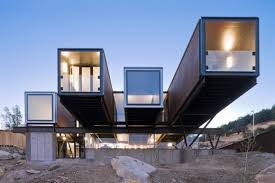 100 House Built From Shipping Containers Passivelycooled Caterpillar Built From Shipping