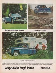 Dodge Builds Tough Trucks For 1966 | Print Ads | HobbyDB