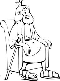 King Of The Neo Babylonian Empire Nebuchadnezzar Colouring Page