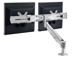 Dual Monitor Arms Desk Mount by 18 Dual Monitor Arms Desk Mount Workfit Lx Ergotron 45 405