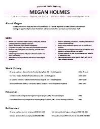 Resume Cover Letter Examples For Dental Hygienist Feat Sample Tips