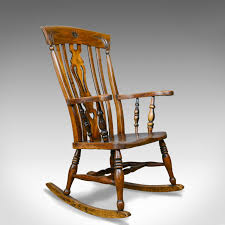 Antique Rocking Chair, Edwardian, Country Kitchen, Windsor ...