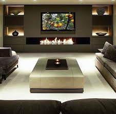 modern den or living room area sectional sofa with