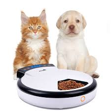 Pet Supplies Automatic Pet Feeder With Voice Reminding Electronic