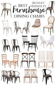 Type Of Chairs For Office by Best 25 Farmhouse Table Chairs Ideas On Pinterest Rustic Dining