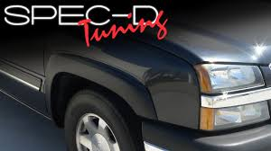 SPECDTUNING INSTALLATION VIDEO: 1999 - 2006 CHEVY SILVERADO FENDER ... Bushwacker Chevy Silverado 2004 Pocket Style Matte Black Fender For 9907 Silveradogmc Sierra Pickup 4pc Set Pockriveted Lund Rxrivet Flares 1415 1500 Rough Country Wrivets For 62018 Chevrolet Boltriveted 42018 Green With Dna Motoring 9906 Gmc Factory 4095602 Flare Oestyle Set Intertional Bushwacker Products F Rivet 59 Bed Length