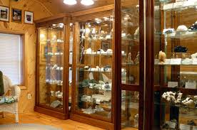 These Display Cabinets In Mike Walters Showroom Show Off The Specimens Perfectly