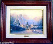 Thomas Kinkade Christmas Tree Cottage by Thomas Kinkade Christmas Art Paintings Ebay