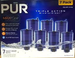 Pur Mineralclear Faucet Refill by Pur Maxion Faucet Mount Replacement Water Filters Harvey Cares