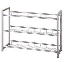 Jette 3 Tier Metal Shoe Rack 6649 Furniture in Fashion