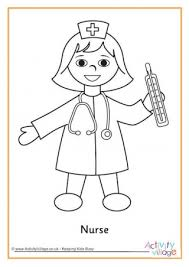 Full Size Of Coloring Pagewinsome Nurse Page With Syringe Delightful