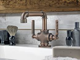 Ashfield Faucet Rustic Bronze by Industrial Style Faucets By Watermark To Give Your Plumbing The
