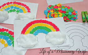 Rainbow Crafts For Kids Image Source