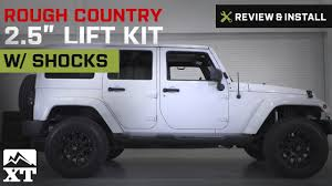 Jeep Wrangler Rough Country 2.5