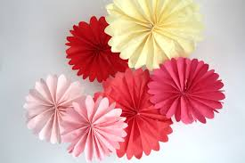 Coral Colored Decorative Items by Party Decor 6 Pomwheels Pick Your Colors Birthday