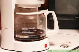 Image Titled Make Tea Using A Coffee Pot Step 4