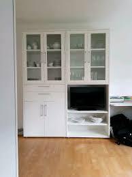 2x esszimmer schränke vitrinen weiß ohne