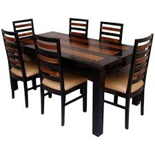 Urban Rustic Solid Wood Piece Dining Room Set Living Designs And