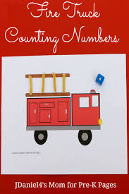 Fire Truck Counting Game | FIRE SAFETY THEME For PRESCHOOL ...