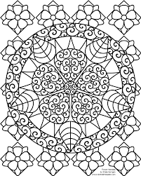 Perfect Flower Mandala Coloring Pages 66 In Seasonal Colouring With