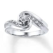 Kay Jewelers Diamond Heart Promise Ring